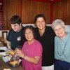 Time with family in Seattle: Cousin Matt, Aunt Jo, & Mom Malcom (note the cheese!!)