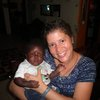 Mama e with baby Elizabeth -- one of the many miraculous babies saved at His House of Hope