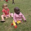 Winnie and Elizabeth-- the 2 year olds from 2 continents
